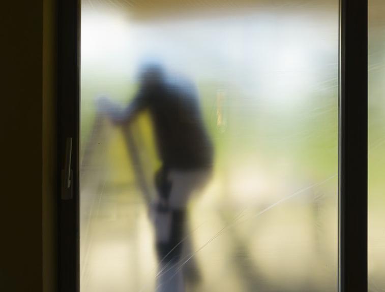 Montage von Fensterfolien